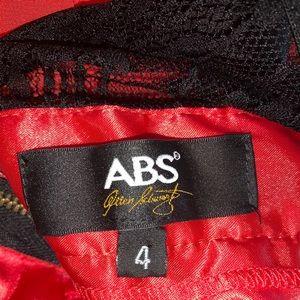 ABS Allen Schwartz Dresses - Tangerine colored gown